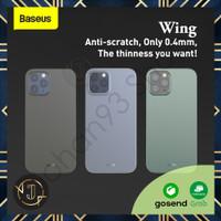 BASEUS Wing Ultra-Thin iPhone 12 Pro Max / Pro / Mini Matte Soft Case