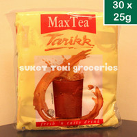 Max Tea Teh Tarik 30 sachet pack @25gr GROSIR