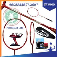 YONEX ARCSABER 71 LIGHT RUDY HARTONO RAKET BADMINTON ORIGINAL