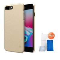 Nillkin Frosted Case iPhone 8 Plus/iPhone 7 Plus Gold Free Anti Gores