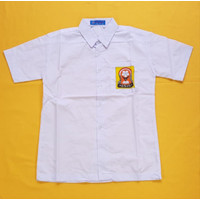 Baju SMP Lengan pendek merk Seragam Ukuran 14 s/d 18
