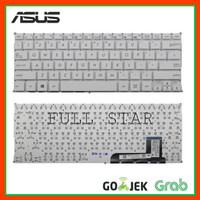 Keyboard Laptop Asus X201 X201E X202 X202E S200 S200E Q200E PUTIH