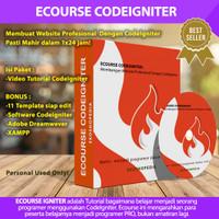 ECOURSE CODEIGNITER - Membangun Website Profesional Dengan CodeIgniter - LINK DOKUMEN
