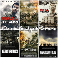 Film Serial Perang Band Of Brother,Seal Team & The Pacific Di Usb 64GB