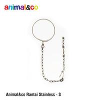 Rantai Burung size S AnimalnCo stainless steel parrot medium afgrey