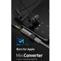 MCDODO iPhone Converter Lightning to 3.5 mm Audio Jack 2in1 CA-6210