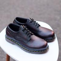 SEPATU PRIA AZCOST FOOTWEAR CARLO BURGUNDY ORIGINAL