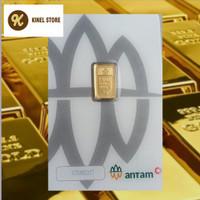 Emas Antam LM Logam Mulia 1 Gram Bersitifikat satu gr/ satu gram
