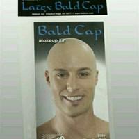 Bald cap Latex makeup kit mehron