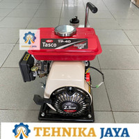 TASCO Pompa Air Bensin TP 40 Alkon 1.5 Inch PLUS Converter 1 Inch 4tak