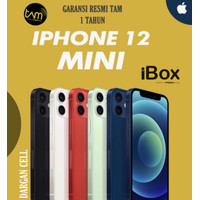 IPHONE 12 MINI 64GB 128GB 256GB GARANSI RESMI IBOX/TAM INDONESIA