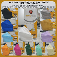 MASKER KF94 KINGMASK 4PLY 1BOX ISI 20PCS PREMIUM