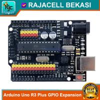 Arduino Uno R3+ Plus GPIO Expansion Hi-Quality Uno R3 Compatible Board