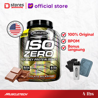 Muscletech Iso Zero 4lb whey Protein Isolate Bstores