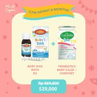 Paket GTM Infant 6months + ( DHA with D-3 + Probiotics)