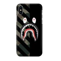 Hard Case Shark Bape Custom For iPhone X | XS