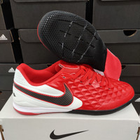 Sepatu Futsal Nike Tiempo Legend 8 Pro Red White ic - sepatu bola