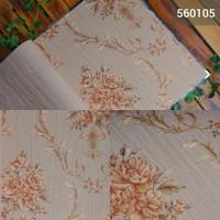 [MURAH] Jual wallpaper dinding motif bunga