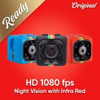 HD Mini Camera Action 1080P SQ11 Mini DV - Merah