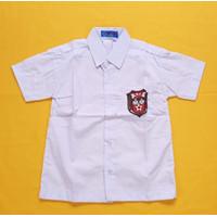 Baju SD Lengan Pendek merk Seragam ukuran 7,8,9,10,11,12,13