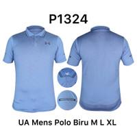 Kaos Kerah Polo Dri-Fit Olahraga LightBlue/BiruMuda P1324