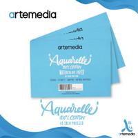 Kertas Cat Air Artemedia Aquarelle A5 Cotton Watercolor Pad