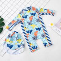 Baju renang anak laki-laki import premium - baby shark L