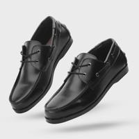 Giant Flames Sepatu Casual Loafer Pria Pandya Black - Hitam