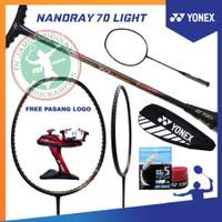YONEX NANORAY 70 LIGHT RUDY HARTONO RAKET BADMINTON ORIGINAL