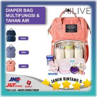 Tas Anello Bayi / Tas Ransel Perlengkapan Bayi / Baby Diaper Bag