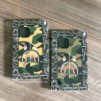Bape 1st Camo Yellow & Green Shark iPhone 12 Promax Case