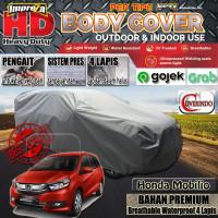 Body Cover Mobilio 100% Outdoor 4 Layer -HD Impreza - - Abu-abu Muda
