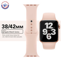 iWatch Tali Strap Apple Watch Series 1 2 3 Band Rubber 38mm 42mm
