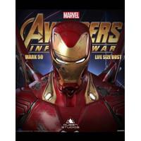 Queen Studios Iron Man Mk50 Battle Damage Bust 1:1