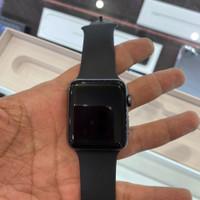 Apple Watch Series 3 42mm Space Grey Mulus Fullset Ori Garansi Aktif