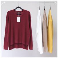 Boxy Viona Sweater / Boxy Sweater / Baju Rajut / Sweater Rajut Wanita