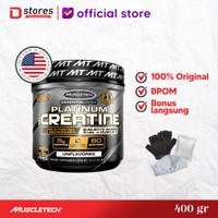 Muscletech Platinum Creatine 400gram Bstores