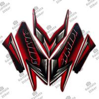 Stiker Motor Yamaha Rx King 2008 Merah