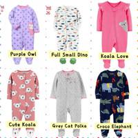 Sleepsuit Bayi Tutup Kaki Jumper Jumpsuit Bayi Laki Laki Perempuan - Cute Koala, 0-3 Bulan
