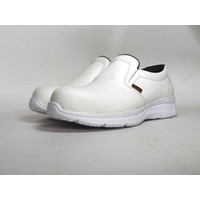 Sepatu Safety Putih Laboratorium Pria Wanita