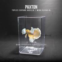 Toples Cupang 4 Liter Paxton / Toples Akrilik Mika 4L