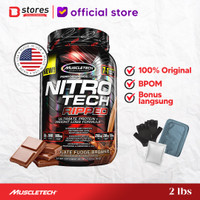 Muscletech Nitrotech Ripped 2lb Whey Protein Bstores