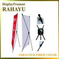 XBanner Fiber Colok 60x160 - Standing Banner - Xbanner Murah