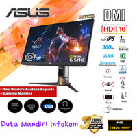 Asus ROG Swift PG259QN 24.5 Inch - FHD IPS 360Hz 1ms Gaming Monitor