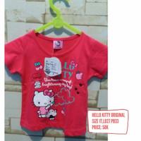 kaos baju hello kitty original sanrio baby 1t