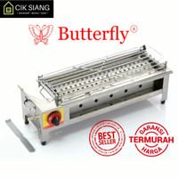 Panggangan Grill Gas Roaster BBQ 1 Tungku Infrared Butterfly