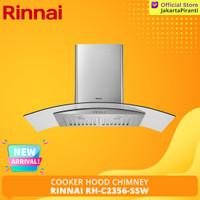 Penghisap Asap Dapur Cooker Hood Chimney Rinnai RH-C2356-SSW