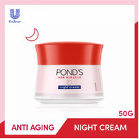 Pond's Age Miracle Night Cream 50 gr Ponds Age Miracle Night Cream 50