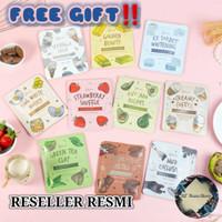 Masker Wajah Bubuk Organik Face Mask by Lea Gloria 20g - Chocolate Melt
