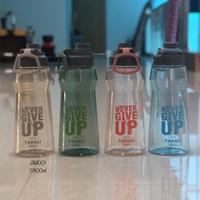 BOTOL AIR MINUM JUMBO 2,6LITER FOOD GRADE BPA FREE - AM001 - Biru